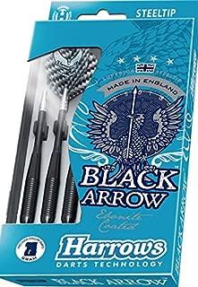 PerfectDarts 21g Ringed Harrows Black Arrow Darts Set