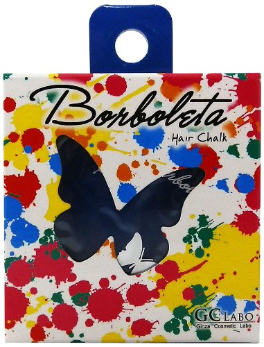 Borboleta Made In Japan 1 Day Hair Chalk Safe Quality - Blue