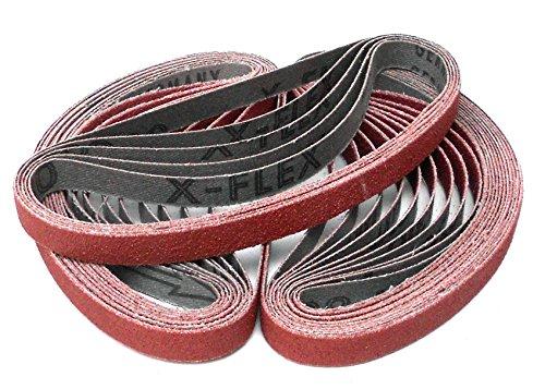 Klingspor CS 310 XF Schleifband/Feilenband | 10 x 330 mm | 25 Stück | Körnung: P120 (71957)