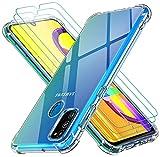 iVoler Cover per Samsung Galaxy M30s / M21, Antiurto Custodia con Paraurti in TPU Morbido e 3...