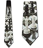 Corbata Corbatas De Ajedrez Perspectiva Corbata Corbata Corbatas Seda Corbatas,Largo145Cm