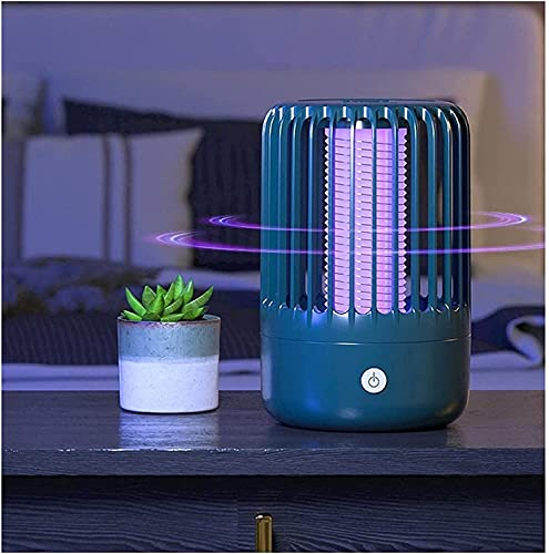 WXFCAS Tipo di Scossa elettrica Indoor Electric Mosquito Lampada da zanzare Plug-in Trappola Zanzara Zanzara Zanzara Repellente per Home Office e Giardino Repellente per Insetti (Colore: B)