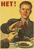 xiangpiaopiao Vintage Stalin UDSSR CCCP Poster Drucke Und