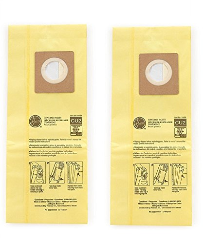 Hoover Commercial AH10243 Upright Bags for HushTone, Allergen Filtration (Pack of 10) (2 X Pack of 10)