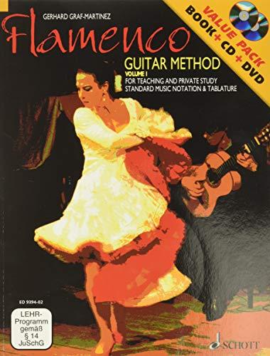 Flamenco Guitar Method Volume 1: Book/CD/DVD Pack (GUITARE)