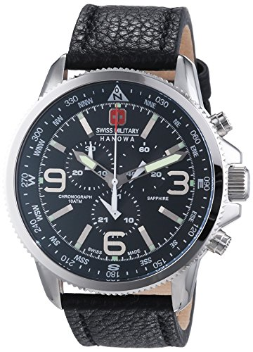 Swiss Military Hanowa Herren-Armbanduhr Analog Quarz 06-4224.04.007