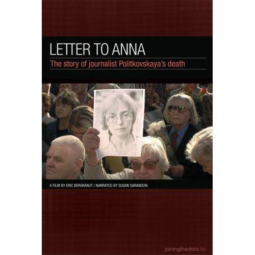Letter to Anna (Ein Artikel zu viel - Anna Politkowskaja und das System Putin) (Anna P.) [Regioon 2]