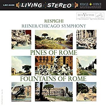 Respighi: Pines of Rome; Fountains of Rome & Debussy: La mer