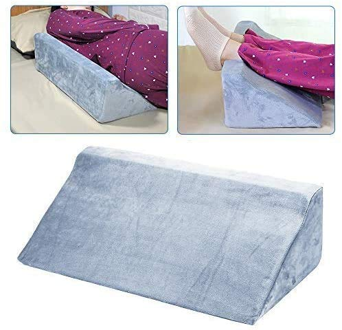 Cuscino a cuneo in schiuma per letto inclinato per dormire Cunei e posizionatori per il corpo Indietro a 30 gradi dopo l'intervento chirurgico Cuscino di posizionamento per