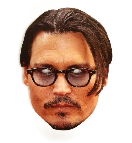 『mask-arade パーティーマスク【ジョニー・デップ/Johnny Depp】』のトップ画像