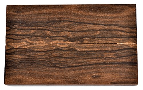 Texas Knifemakers Supply Ziricote Wood Knife Handle Scales (Each Pair...