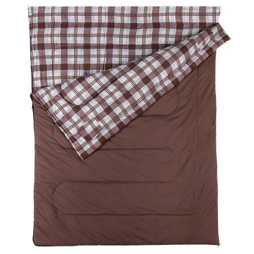 COLEMAN Hampton Double Sac de Couchage Marron