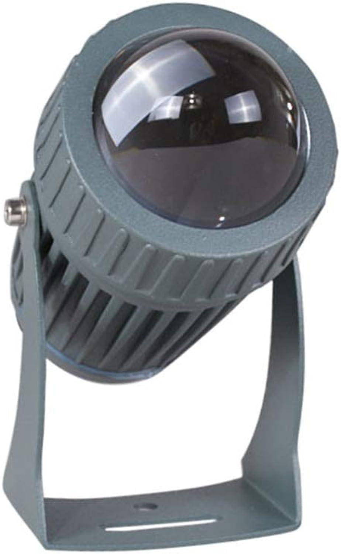 YROD LIGHT LED Scheinwerfer, Sicherheit Regenfest Auenbeleuchtung zum Park Quadrat Hof Rasen Landschaft (Farbe   Blau Light)