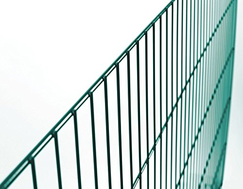GAH ALBERTS Zaun »Einzelstabmatte grün« 75 cm x 200 cm