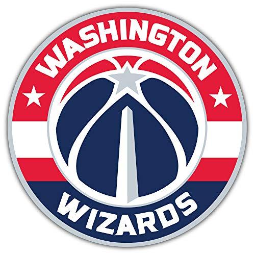 skyhighprint - Washington Wizards NBA Logo Sport Decor Vinyl Print Sticker 5'' X 5''