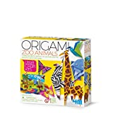 4M 404764 Little Craft Origami Zoo Animales, Multi Color , color/modelo surtido
