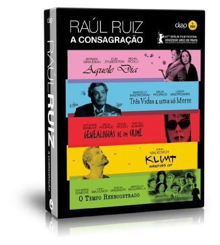 Raoul Ruiz Collection - 5-DVD Box Set ( Ce jour-là / Trois vies & une seule mort (Três Vidas E Uma Só Morte) / Généalogies d\'un crime (Genealogias de um Crime) [ Portugiesische Import ]
