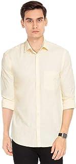 Color Plus Mens Slub Casual Shirt