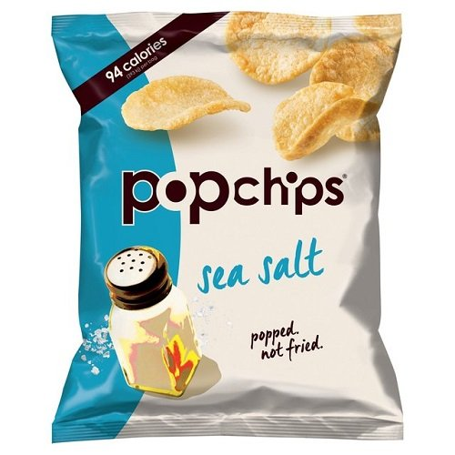 Popchips Original Popped Single Serve Potato Chips 23 g(Pack of 24)