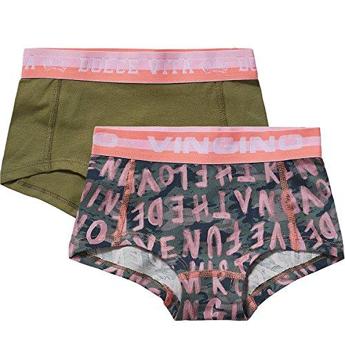 Vingino 2-er Pack Boxershorts Kamie Girls-128 - Kindermode : Mädchen