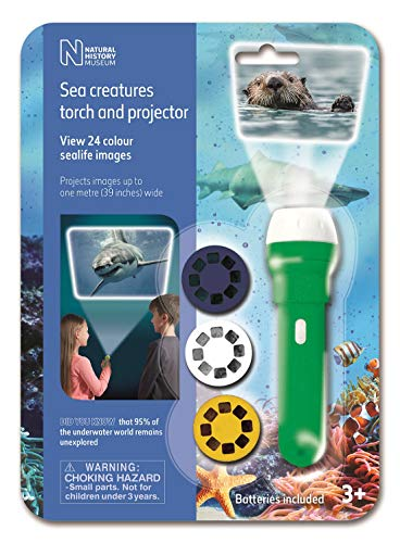 Natural History Museum- The Antorcha y proyector Sea Criatur