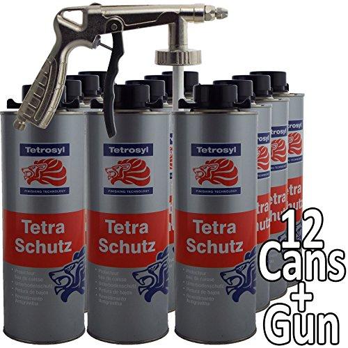 Tetraschutz Tetrosyl Schutz Paint 12 x 1 Litre Bottles + Air Application...