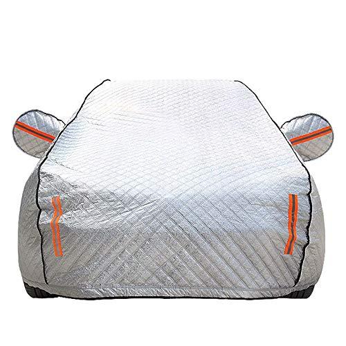 QCYP Cubierta de Coche Adecuado para Nissan Sylphy 2008-2019 sombrilla a Prueba de Lluvia Cubierta Exterior Coche Artículos de Verano e Invierno para automóviles