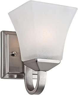 Design House 514745 Torino 1 Light Wall Light, Satin Nickel