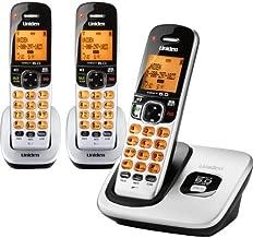 Uniden D1760 1.9Ghz DECT 6.0 Cordless Handset Telephone + 2 Additional DCX170 Cordless Handsets