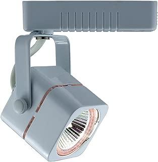 Jesco Lighting HLV10250WH Mini Deco 102 Series Low Voltage Track Light Fixture, 50 Watt, White Finish