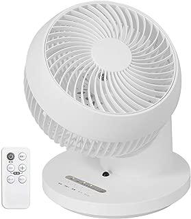 iimono117 サーキュレーター 24畳 360度回転 自動首振り 最新モデル リモコン タイマー 付 / 静音 真上 送風機 扇風機 部屋干し 洗濯 浴室乾燥