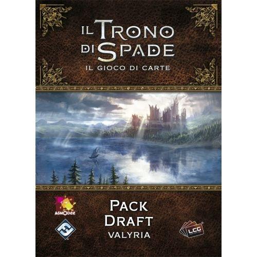 Asmodee Italia-Juego de Tronos LCG 2nd Ed. expansión Pack Draft Valyria juego de mesa, color, 9228 , color/modelo surtido