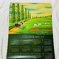 限定信金 油彩画カレンダー2021