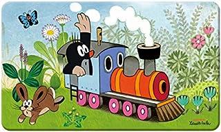 Trötsch Der kleine Maulwurf Frühstücksbrettchen Lokomotive: aus Melamin