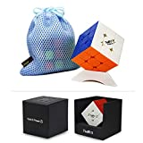 FunnyGoo VALK 3 Power M Valk3 Power M Cubo Magico 3x3x3 Magic Puzzle Cube + Un cubo Stand e Una Borsa cubo ( Stickerless)