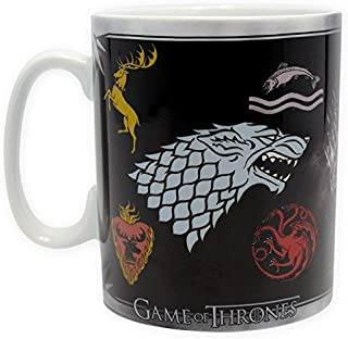 Abystyle Game of Thrones Mug-Sigles and Throne, Multi-Colour, 460 ml, 804591