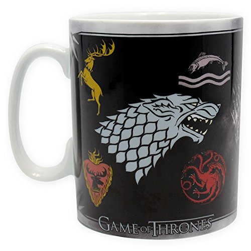 ABYstyle - GAME OF THRONES -Tasse - 460 ml - Sigles & Throne