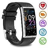 Fitness Armband mit Pulsmesser Fitness Tracker mit Blutdruckmessung Pulsuhren Fitness