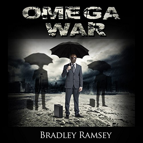 The Omega War audiobook cover art