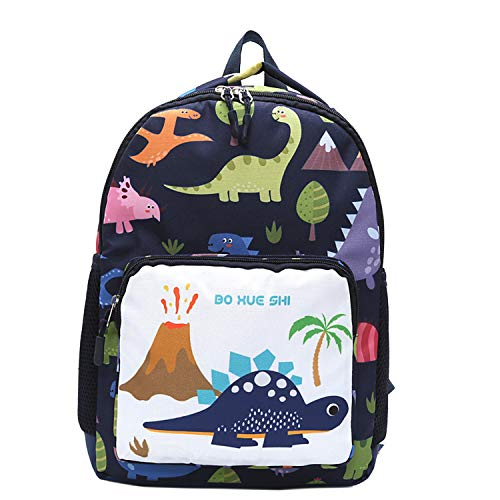 Mochila de dinosaurio para niños pequeños, mochila de jardín de infancia, mochila para niños y niñas, mochila escolar