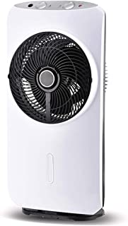 Aire acondicionado Ventilador de Piso doméstico atomizador, silenciador de Escritorio Ventilador humidificador móvil 8 Modos Velocidad del Viento en Cuatro Modos.