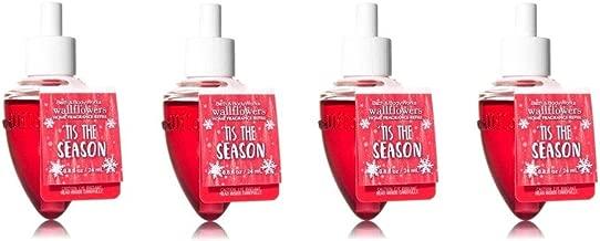 Bath & Body Works Tis the Season Wallflower Refill Bulbs - Lot of 4