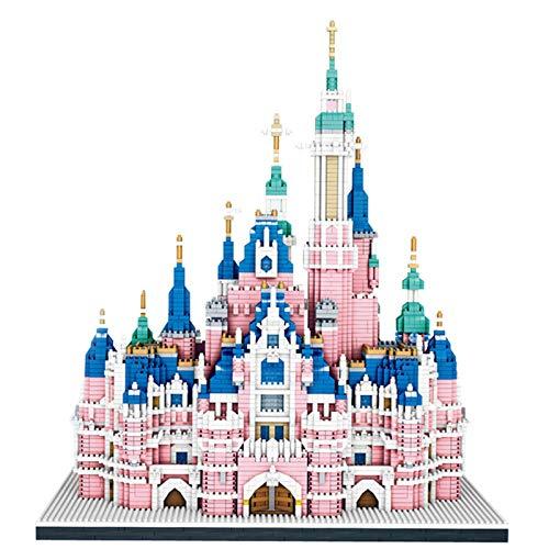 YYDE Micro Mini Blocks Disney Castle Series Model Set, 6300 Piezas Mini Ladrillos Juguete, Regalo para Adultos y niños, Arquitectura Modelo de Juguete para niños