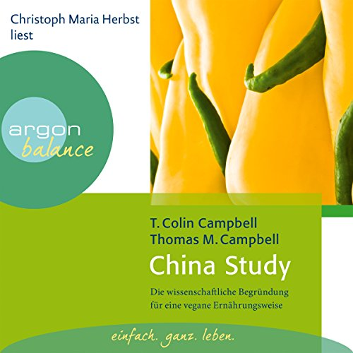 China Study audiobook cover art