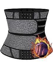 SLIMBELLE trener talii trymer neoprenowy gorset pasek sauna z zamkiem błyskawicznym modelowanie pas pot wyszczuplający trening 13 stalowy kształt ciała