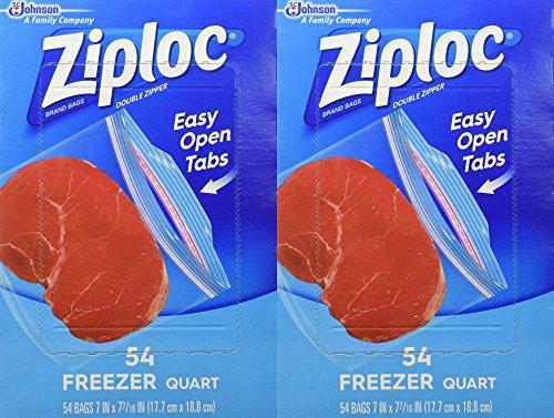 freezer quart ziploc - 9