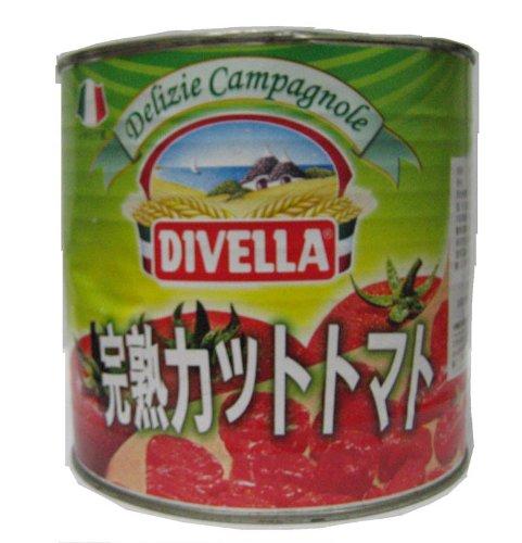 メモス ディヴェッラ ダイスカットトマト 2500g [0095]