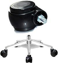 Materiaalbehandelingsproducten Schroefdraad Office chair draaistoel Wielen/pulley/Roller 5 stuks, Sterke Structural Design...