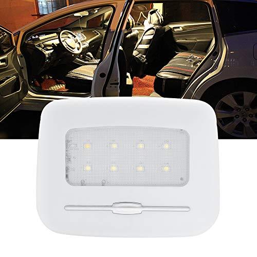BOGAO Luces LED para cúpulas para interiores de automóviles Luces de caja traseras Luces de lectura de automóviles Luces de matrícula Luces pequeñas nocturnas blanco cálido 3000K