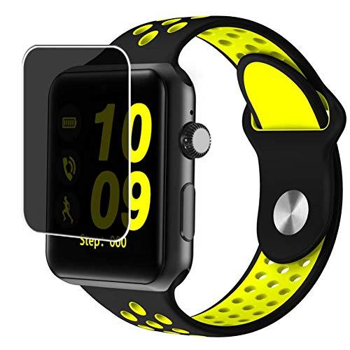 Vaxson Anti Spy Schutzfolie, kompatibel mit Smartwatch Smart Watch DM09 PLUS, Displayschutzfolie Privatsphäre Schützen [nicht Panzerglas]